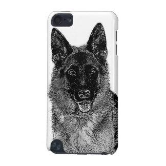 ジャーマン・シェパード犬 iPod TOUCH 5G ケース