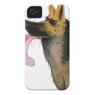 ジャーマン・シェパード、贅沢なfernandes Case-Mate iPhone 4 ケース