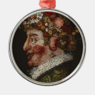 ジュゼッペ・アルチンボルドのLa Primavera (1563年) メタルオーナメント