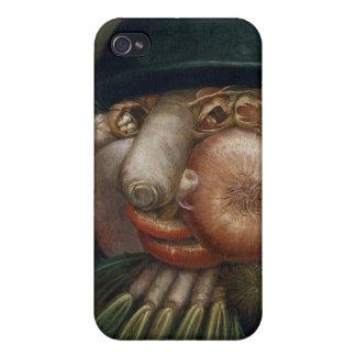 ジュゼッペ・アルチンボルド-野菜庭師 iPhone 4 COVER