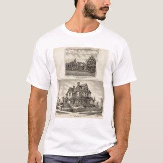 ジュニアフィッシャーおよびMPシンプソン、カンザスの住宅 Tシャツ