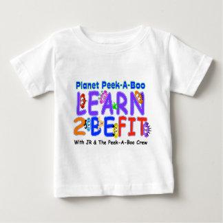 -ジュニア及びピーカーブ式乗組員と… 2つを合われます学んで下さい ベビーTシャツ