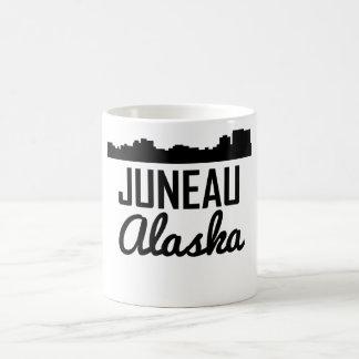 ジュノーアラスカのスカイライン コーヒーマグカップ