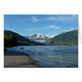 ジュノーアラスカのMendenhall湖 カード