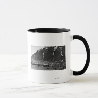 ジュノー、アラスカのの水辺地帯の眺め写真 マグカップ