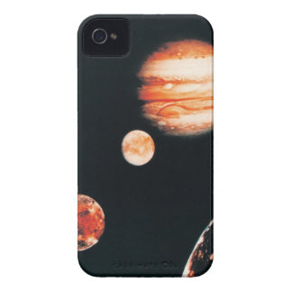 ジュピターおよびガリレイ衛星 Case-Mate iPhone 4 ケース