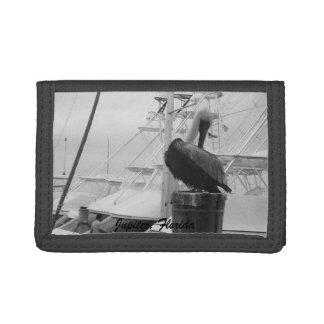 ジュピターのフロリダのボートのマリーナ及びペリカンの財布