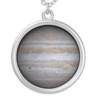 ジュピターの太陽系の惑星のチャームのネックレス シルバープレートネックレス