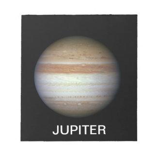 ジュピターの惑星NASA ノートパッド