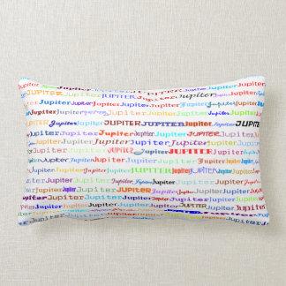 ジュピターの文字デザインなII Lumbarの枕 ランバークッション