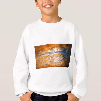 ジュピターの渦巻く雲 スウェットシャツ