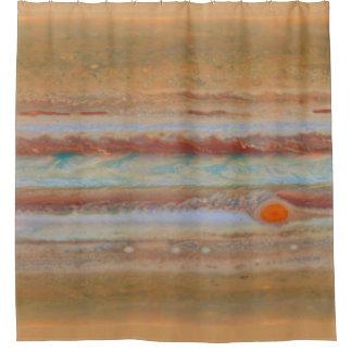 ジュピターの表面|のシャワー・カーテン シャワーカーテン