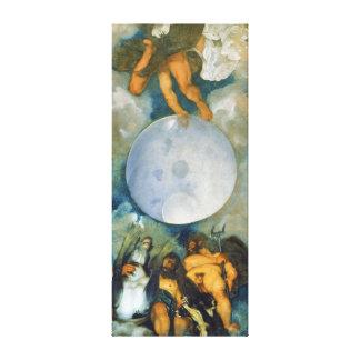 ジュピターネプチューンおよび1597年にCaravaggio著プルート キャンバスプリント