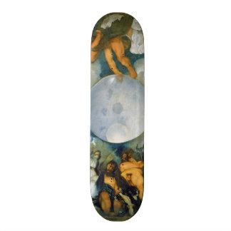 ジュピターネプチューンおよび1597年にCaravaggio著プルート 20.6cm スケートボードデッキ
