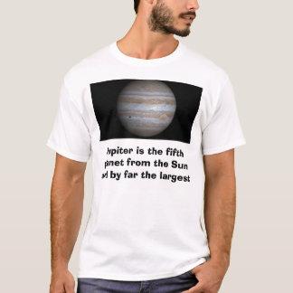 ジュピター、ジュピターはSからの第5惑星…です Tシャツ