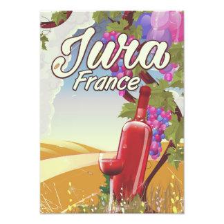 ジュラフランスのブドウ園旅行ポスター フォトプリント