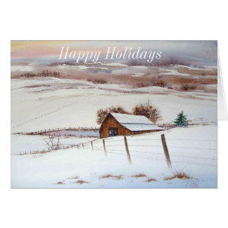 ジュリアン雪の納屋サンディエゴ カード