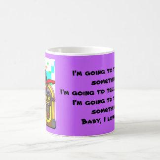 ジュークボックスのロッカー コーヒーマグカップ