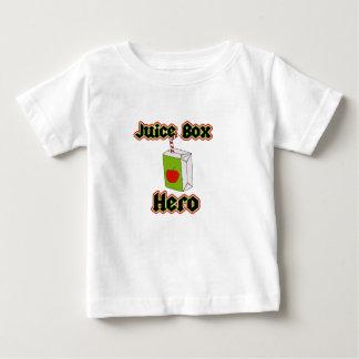 ジュース箱の英雄のかわいい幼児のTシャツ ベビーTシャツ