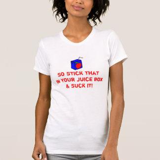 ジュース箱 Tシャツ