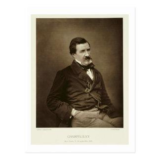 ジュールFrancois Felix Husson、「Champfleury」(1821-8年 ポストカード