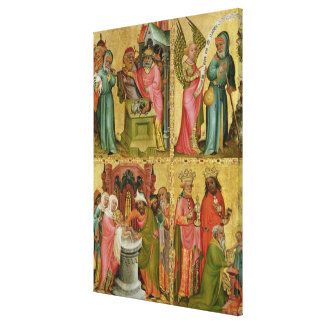 ジョアキムのキリストの犠牲そして割礼 キャンバスプリント