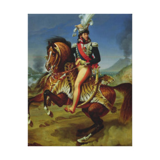 ジョアキムミュラ1812年の乗馬のポートレート キャンバスプリント