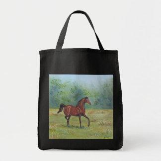 ジョアンヌCasey -バッグ著アイルランドの馬の絵画 トートバッグ