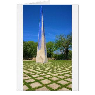 ジョアンMiroの基礎、バルセロナ、Spaiの彫刻 カード