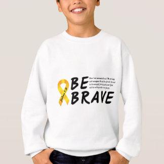 ジョシュアの1:9は勇敢です スウェットシャツ