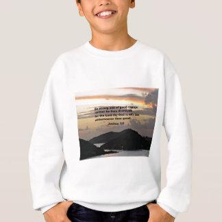 ジョシュアの1:9 スウェットシャツ