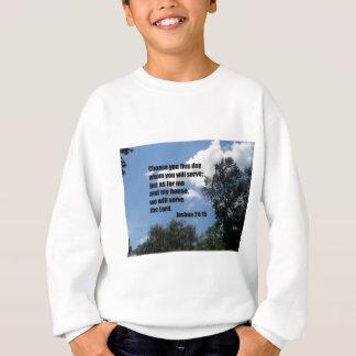ジョシュアの24:15 スウェットシャツ