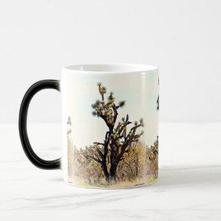 ジョシュアツリーのコーヒーカップかマグ モーフィングマグカップ