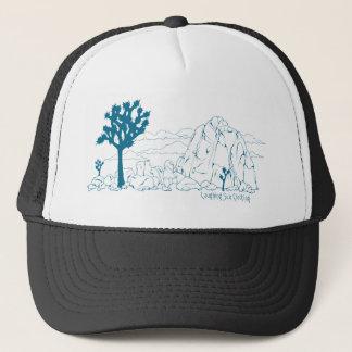 ジョシュアツリーの国立公園の芸術 キャップ
