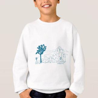 ジョシュアツリーの国立公園の芸術 スウェットシャツ