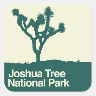 ジョシュアツリーの国立公園 スクエアシール