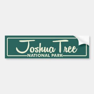 ジョシュアツリーの国立公園 バンパーステッカー
