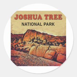ジョシュアツリーの国立公園 ラウンドシール