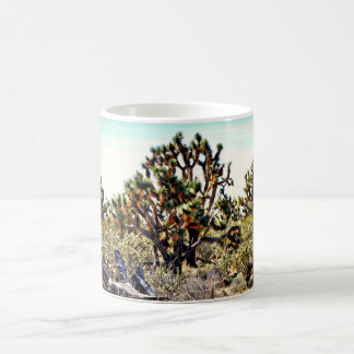ジョシュアツリーの森林コーヒー・マグ コーヒーマグカップ