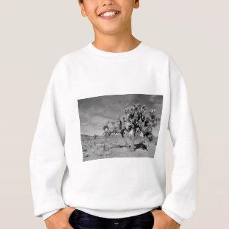 ジョシュアツリー(黒及び白) スウェットシャツ