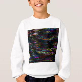 ジョシュア文字デザインなIのスエットシャツの子供 スウェットシャツ