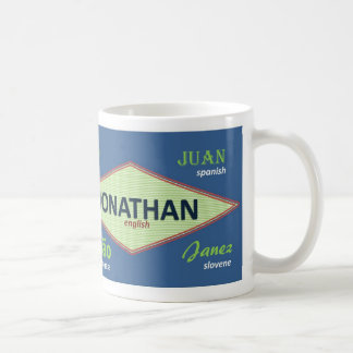 ジョナサンの国際的な一流のマグ コーヒーマグカップ
