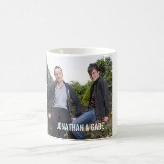 ジョナサン及びGABEのマグ コーヒーマグカップ