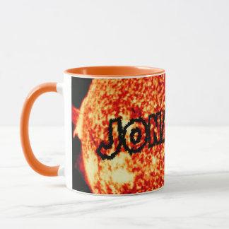 ジョナサン-それは晴れた日です マグカップ