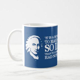 ジョナサン・エドワーズの引用文のコーヒー・マグ コーヒーマグカップ