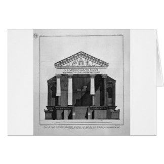 ジョバンニによってIsisの素晴らしい寺院で計画して下さい カード