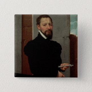 ジョバンニピエトロMaffeis 5.1cm 正方形バッジ