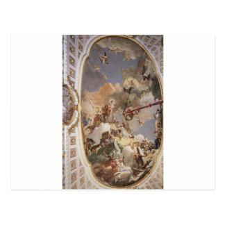 ジョバンニ著スペインのな君主制の神格化 ポストカード