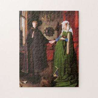 ジョバンニArnolfiniおよび彼の妻のポートレート ジグソーパズル