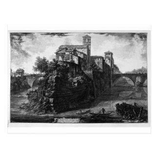 ジョバンニBattista著橋サラリーの眺め ポストカード